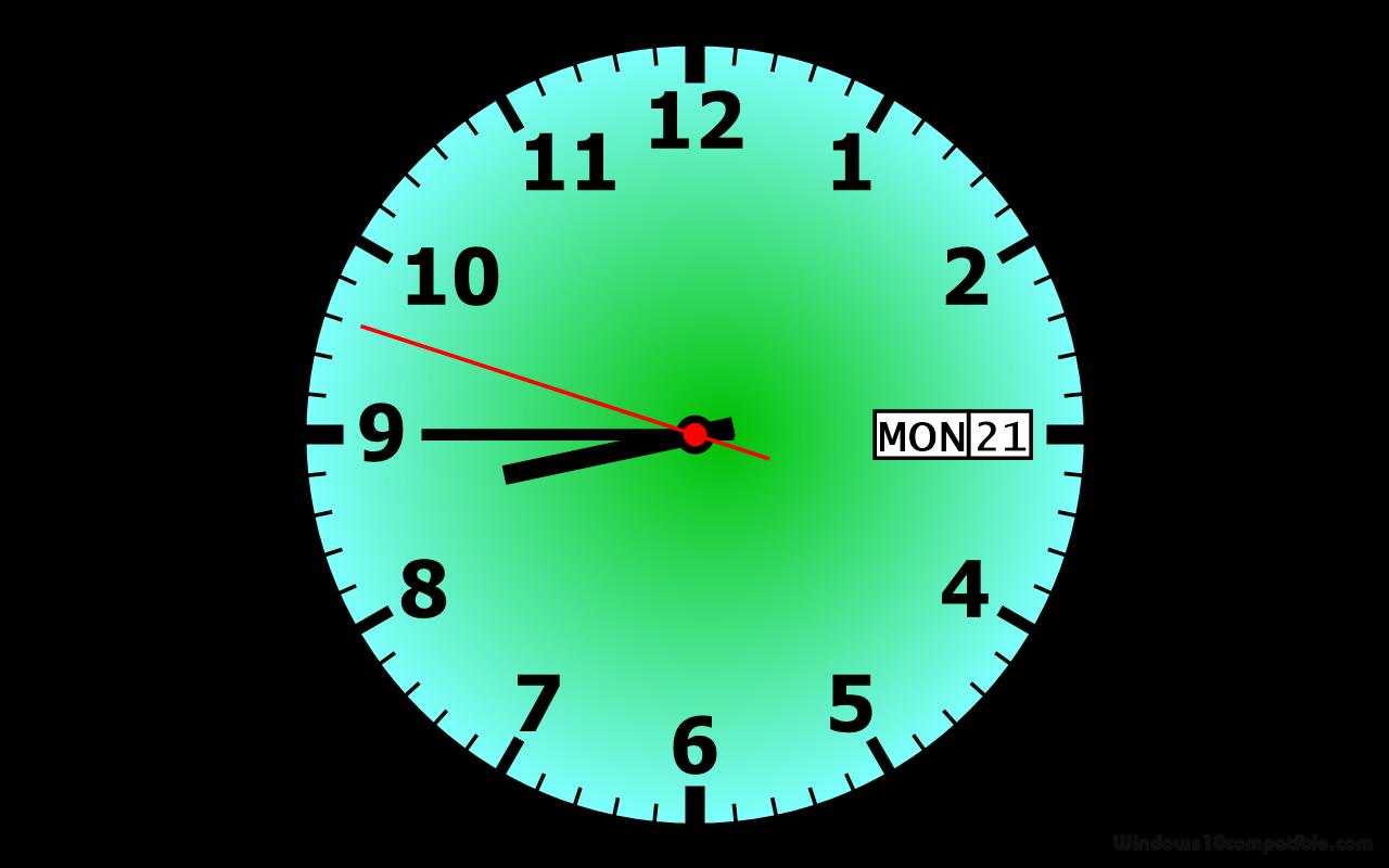 free clock screensaver 1 0 free download